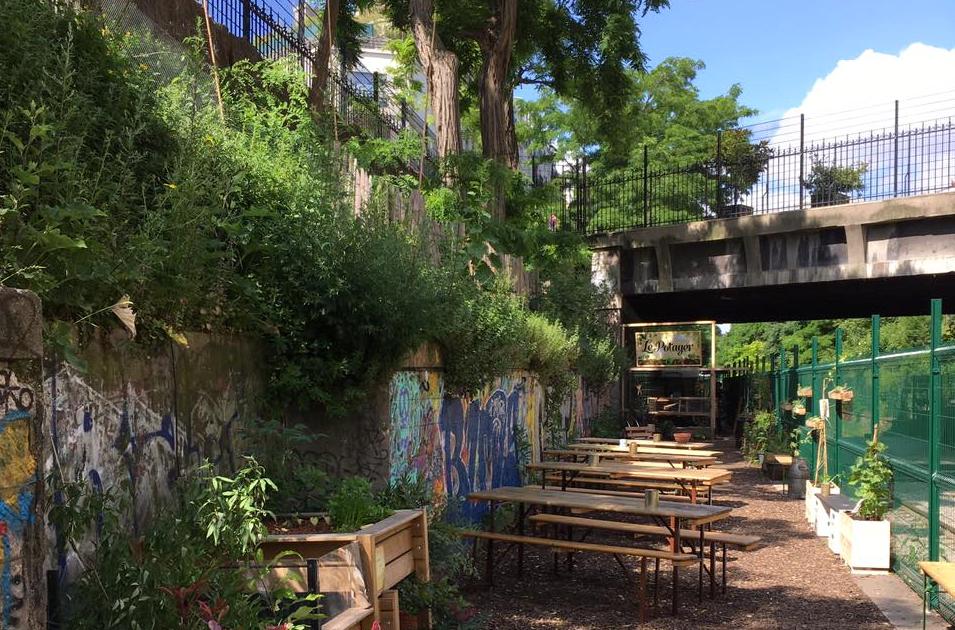 La REcyclerie terrace Paris