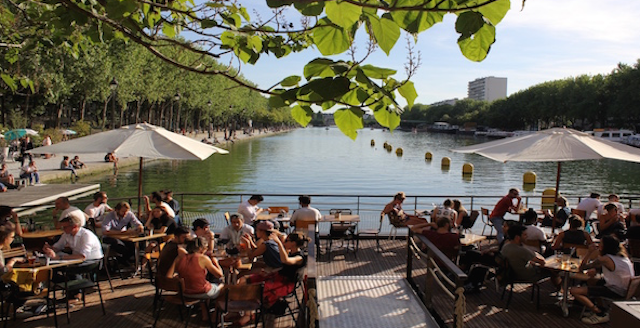 Best outdoor cafe in Paris - Paname Brewing Company terrace Paris