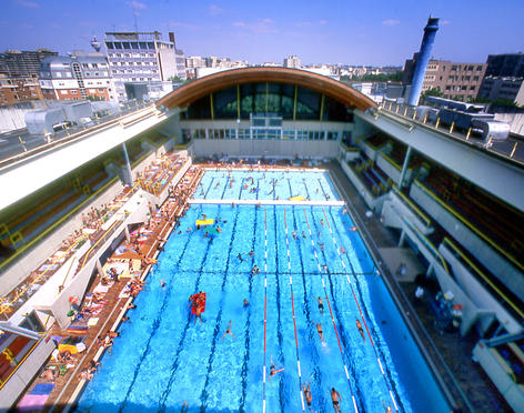 piscine georges Vallerey hot in Paris