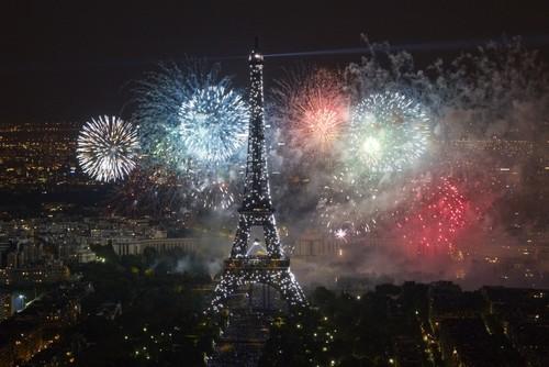 Eiffel tower Bastille day