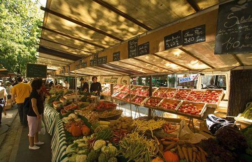 marché Batignolles - Paris street market