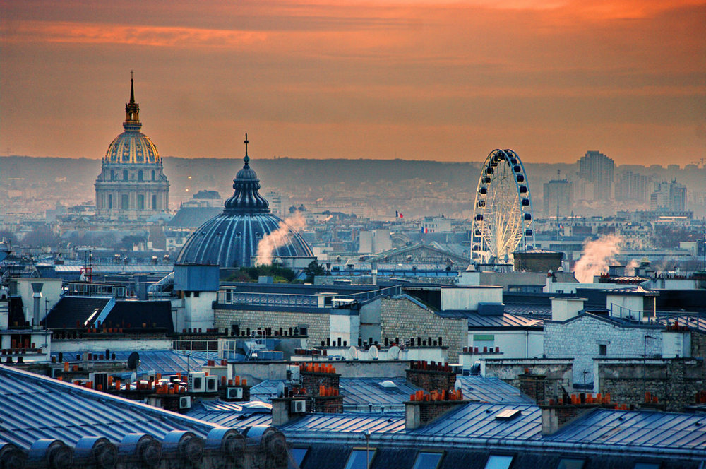 Best views in Paris : Galeries Lafayette Terrace
