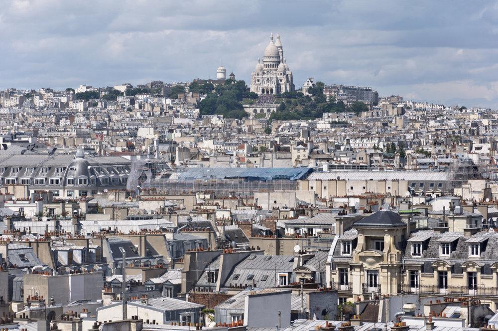 Centre Pompidou views