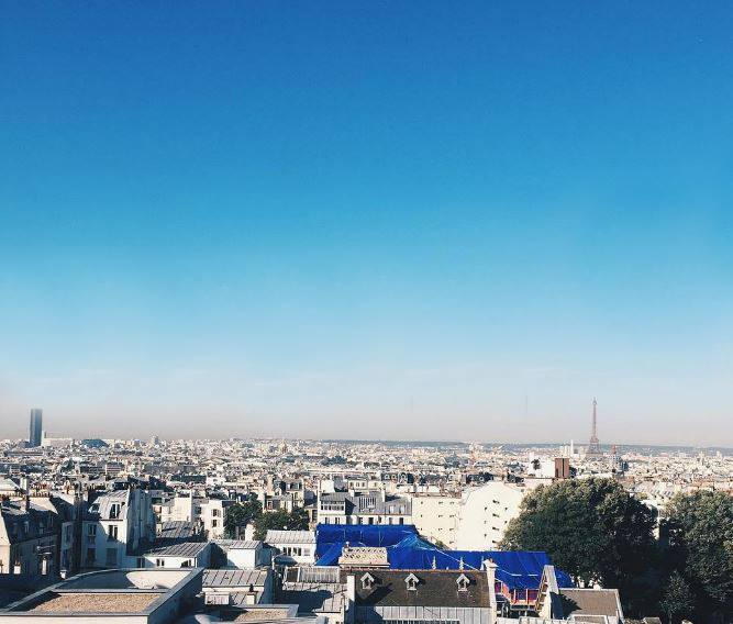 Best views in Paris : Terrass Hotel
