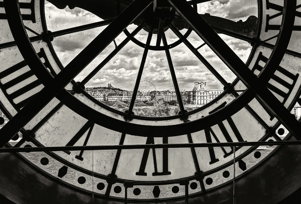 Best views in Paris : Musée d'Orsay