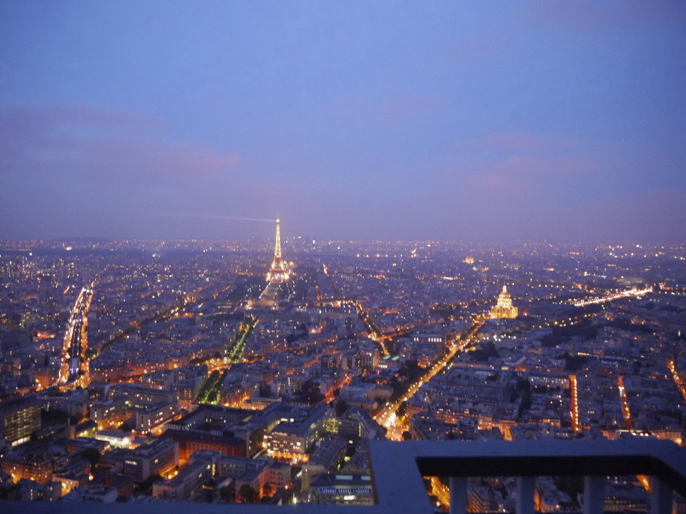 Best views in Paris : Montparnasse Observation Tower