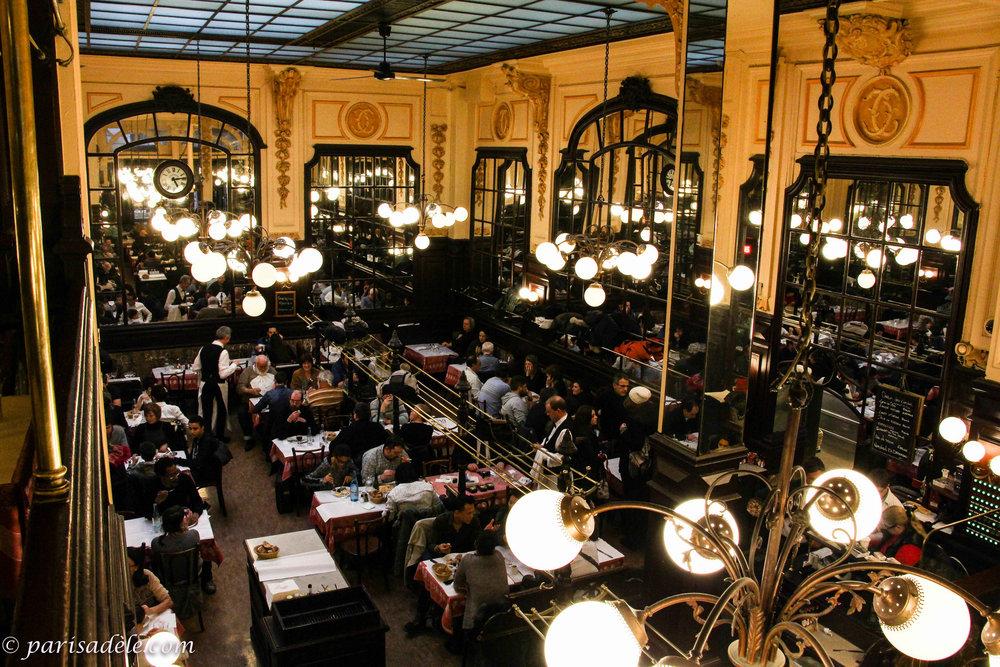 Photo credit @parisadele.com - Le Bouillon Chartier