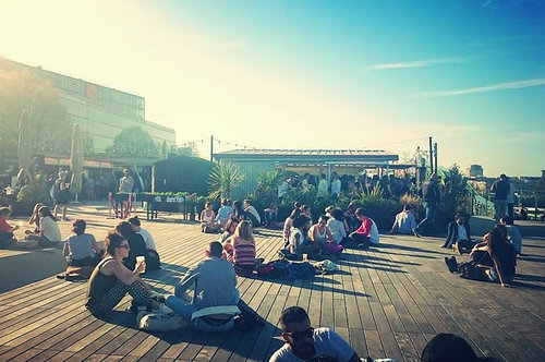 Top rooftop bars in Paris #3 Communion