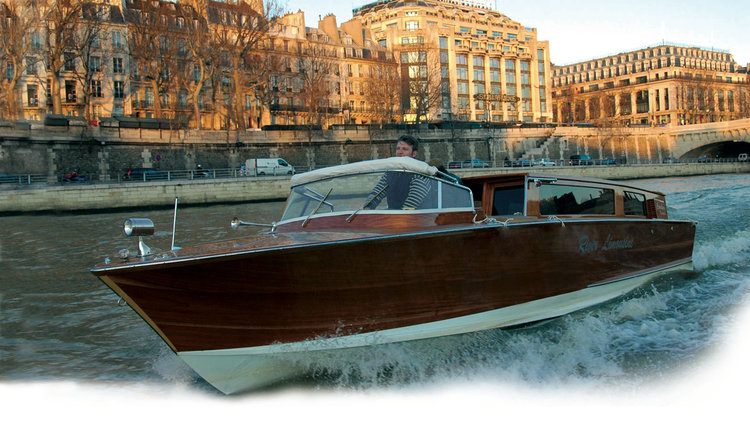 Best Paris River Cruise... of a different kind; Photo credit: river-limousine.com