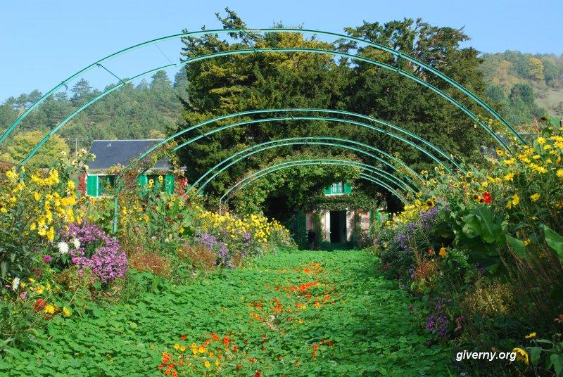 Visitar el Jardín Monet