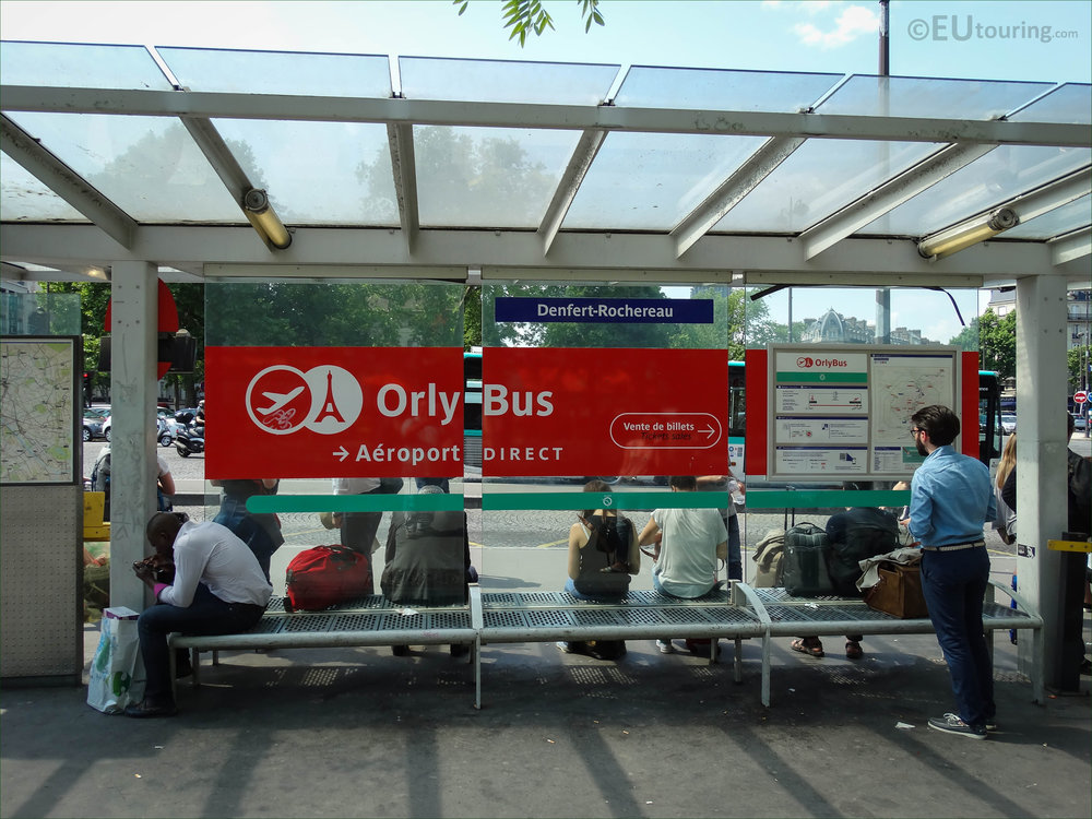 Denfert-Rochereau departure point for Orly - Photo Credit © eutouring.com