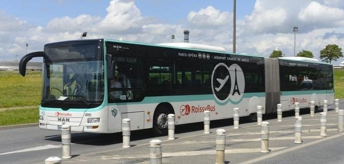 Roissybus shuttle to Paris