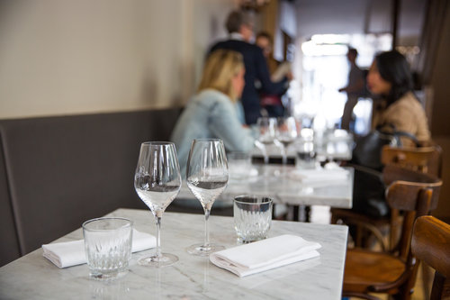 View of Ellsworth restaurant - P hoto credit: INSIDR paris