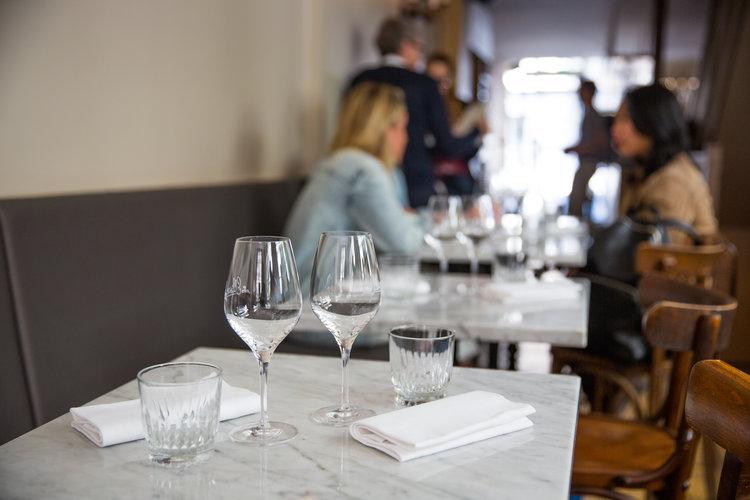 ภายในร้านอาหาร Ellsworth - รูปภาพจาก : INSIDR paris