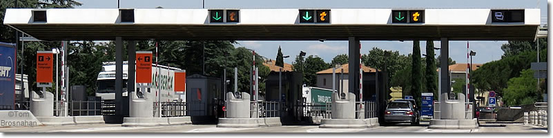 French tolls in France