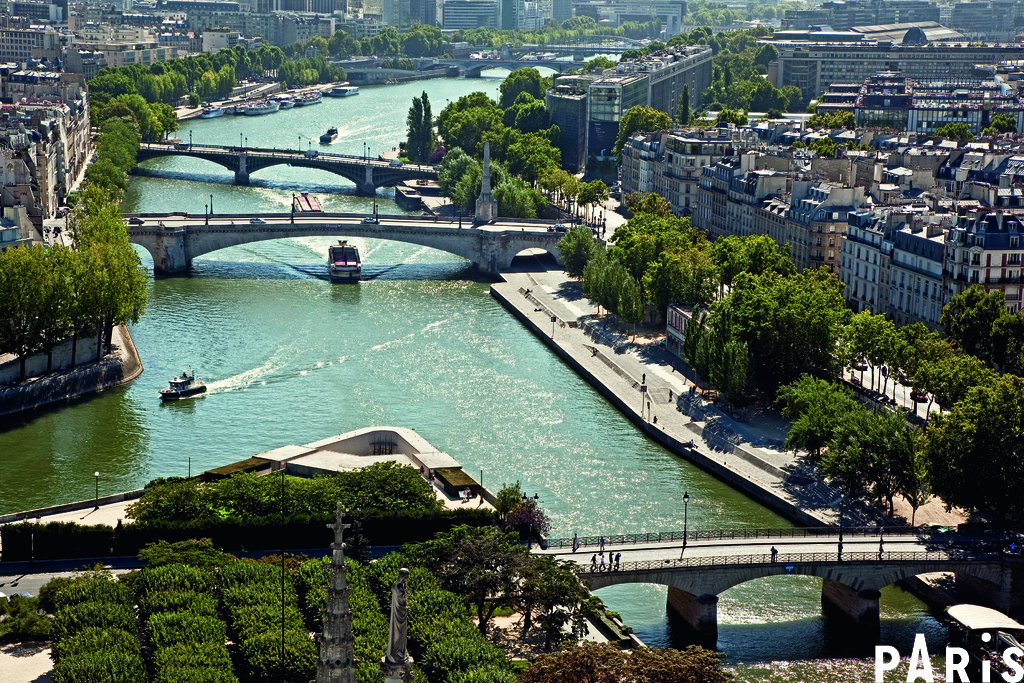 River Seine cycle route