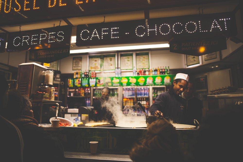 Cheap food place in Paris
