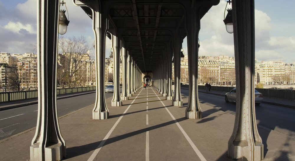 Bridges in Paris : PONT DE BIR-HAKEIM