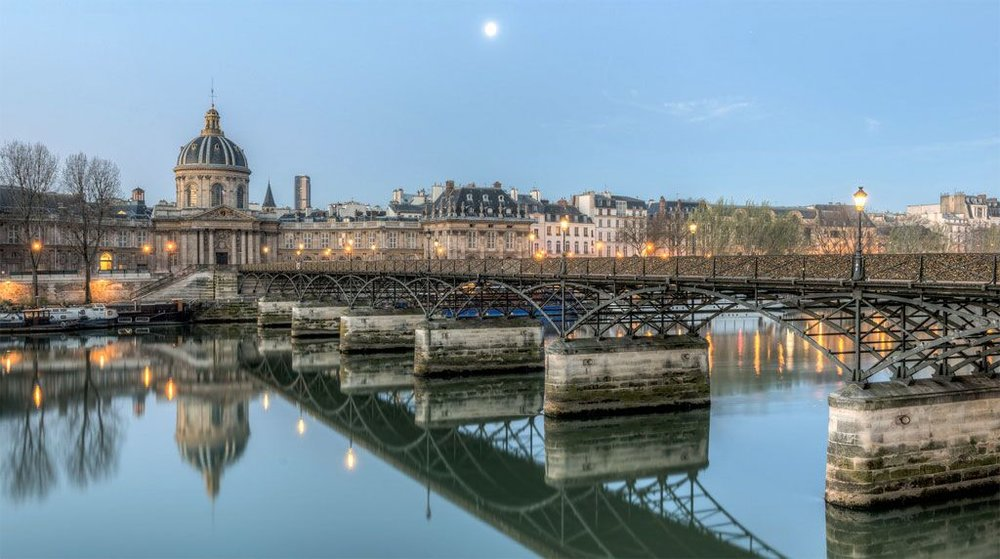 Bridges in Paris : PONT DES ARTS