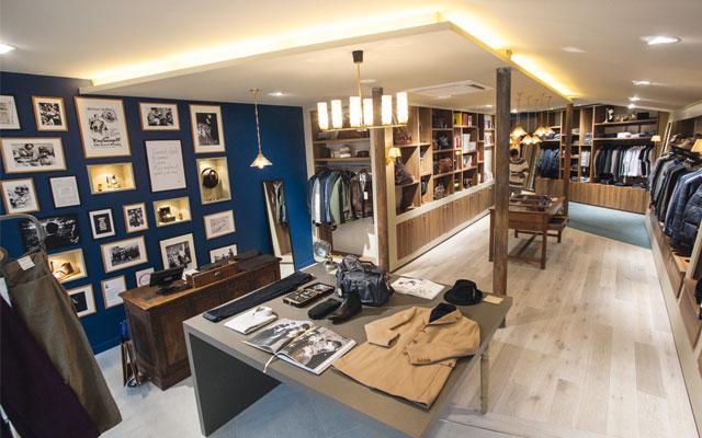 Men's fashion concept store: Sauver le monde des hommes (Photo credit: Benoît Drouet via journaldutextile.com)