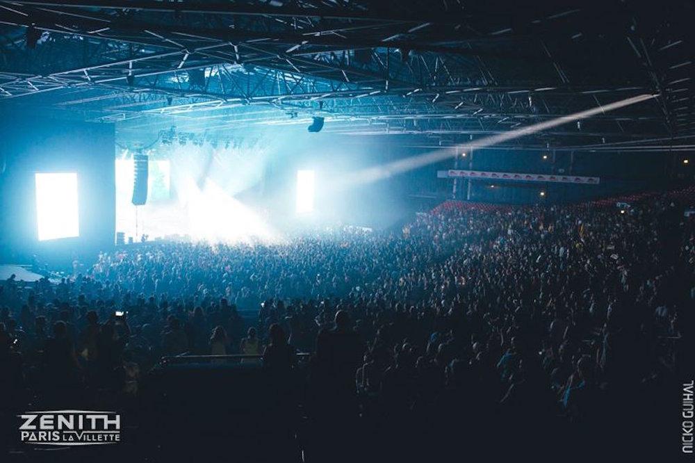 Photo credit: Zenith Paris - Live music Paris