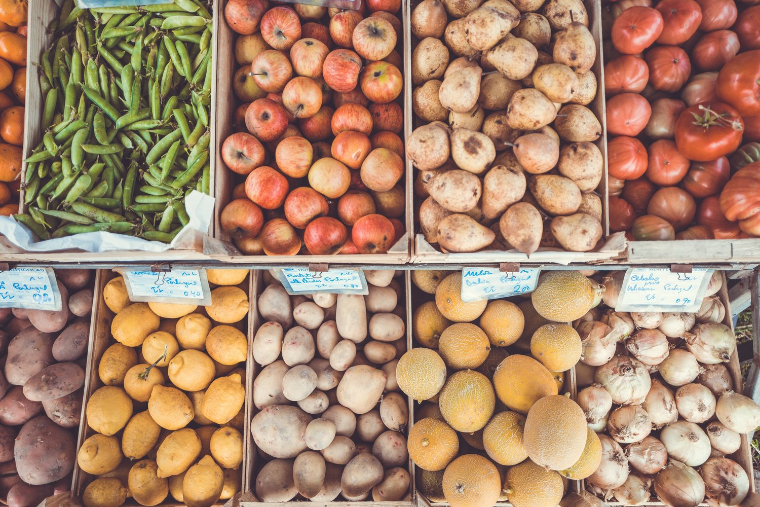 fruit and vegetables markets in France