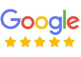 google 5 stars reviews
