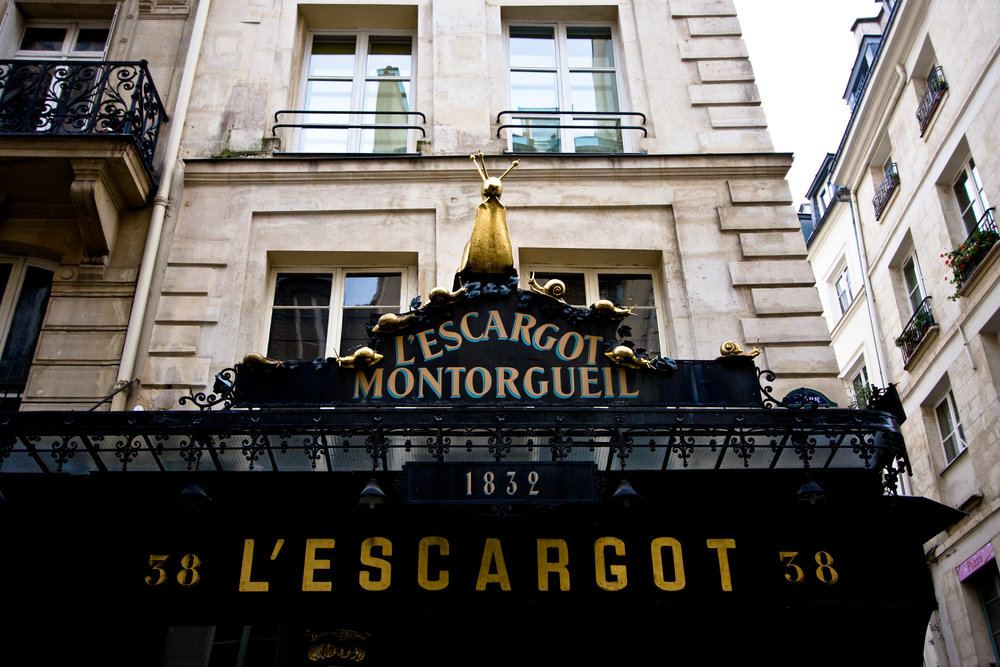 best escargot in paris - L'Escargot_Montorgueil,_Paris