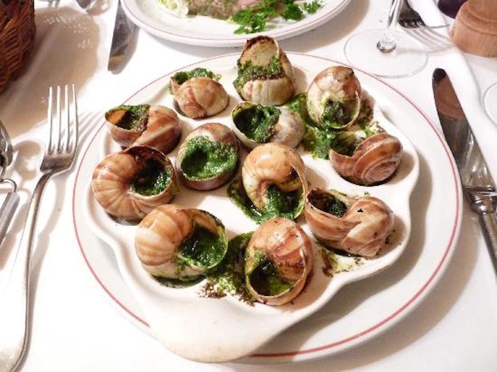 The best escargot in paris insidr paris - Cuisiner les escargots de bourgogne ...