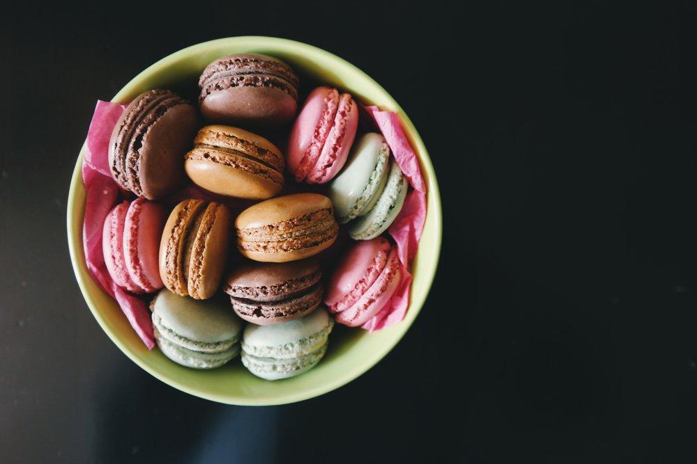 gluten free macarons in Paris