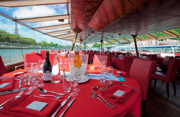 Bateaux Mouches Christmas Day Lunch Cruise