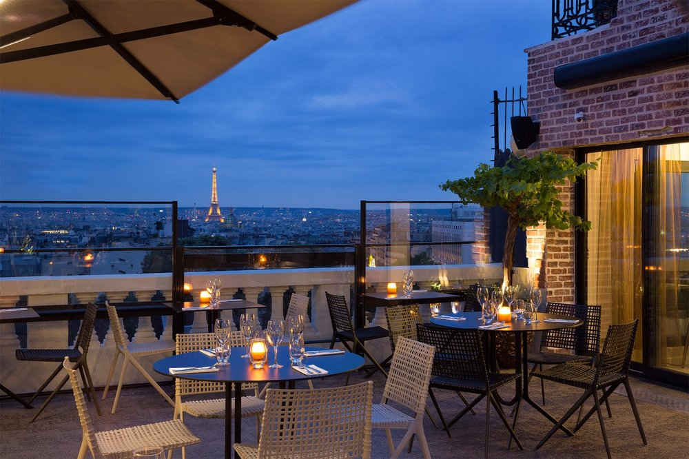 Romantic Restaurants in Paris #5 Terrass Hotel
