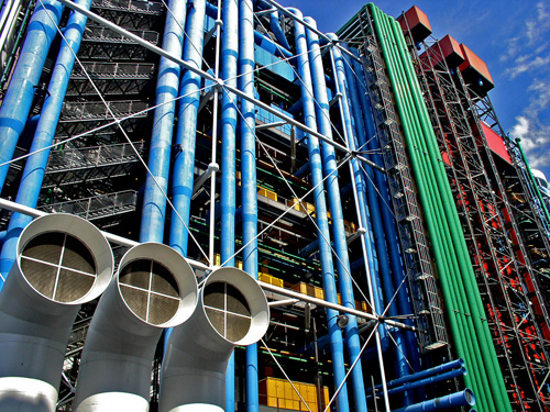 The Centre Georges Pompiduo, Photo Credit- alfieianni.com