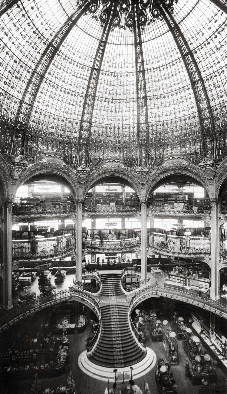 Photo credit:  Galeries Lafayette