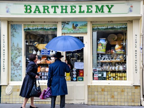Barthelemy - Definitely one of the best cheese shop in Paris.