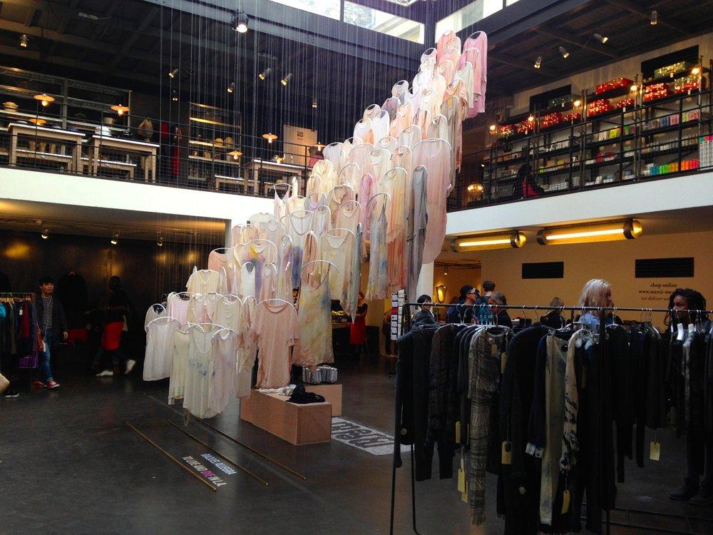 位於巴黎右岸的'Merci'概念店非常新潮