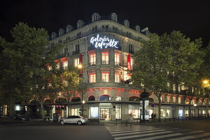 巴黎拉法葉百貨 Galeries Lafayette