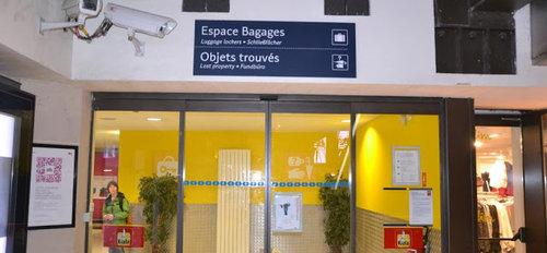 巴黎行李存放 - 巴黎東站 GARE DE L'EST