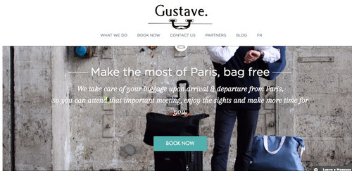 巴黎行李存放 - GUSTAVE