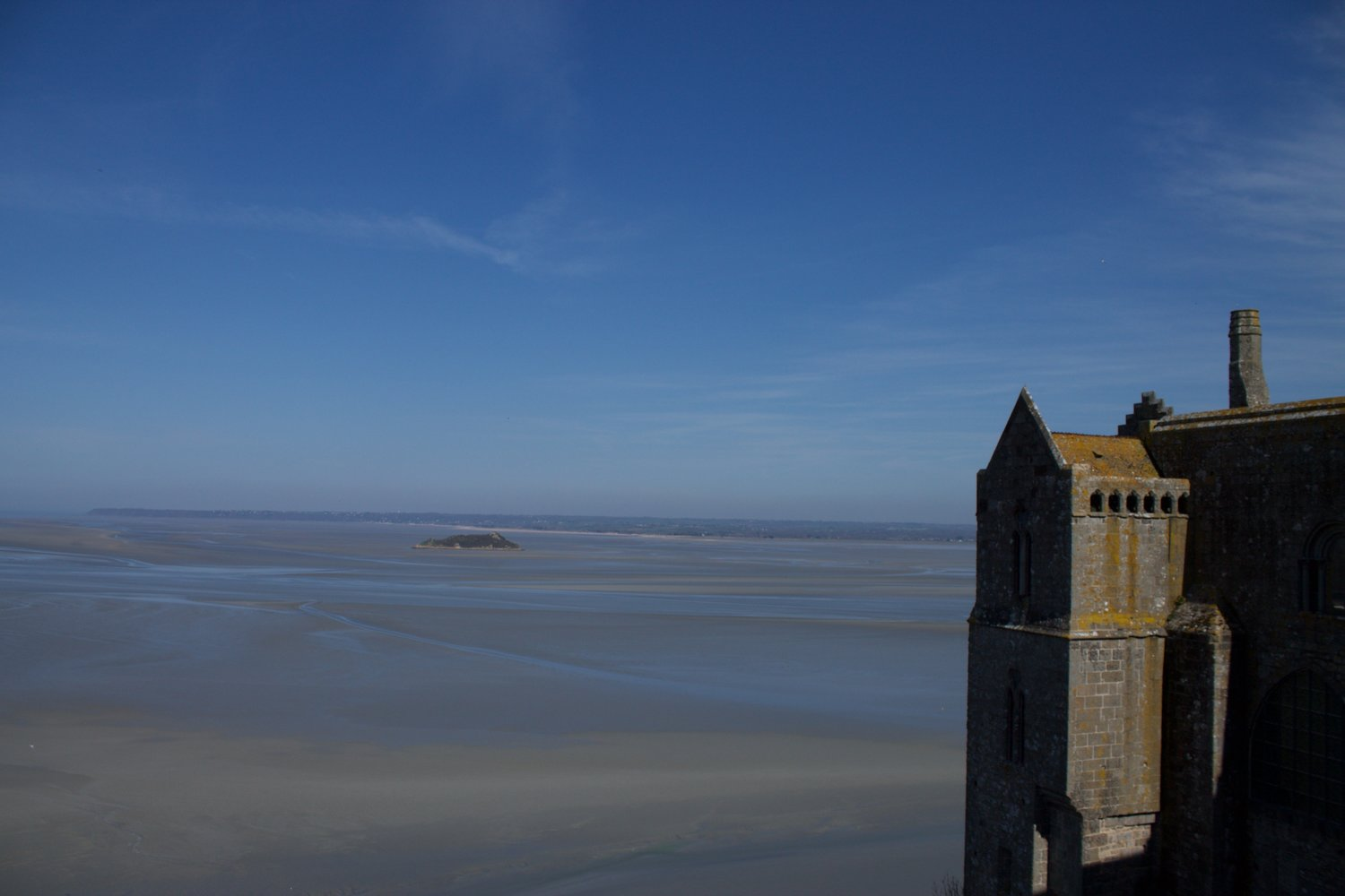 Mont Saint-Michel view