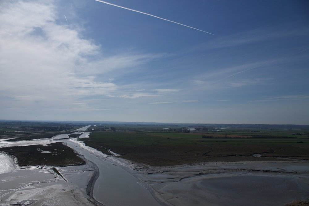 View from Mont Saint-Michel