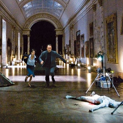 MOVIES SET IN PARIS #6 DA VINCI CODE AND SCENES FROM THE LOUVRE Photo credit:  www.viamagazine.com