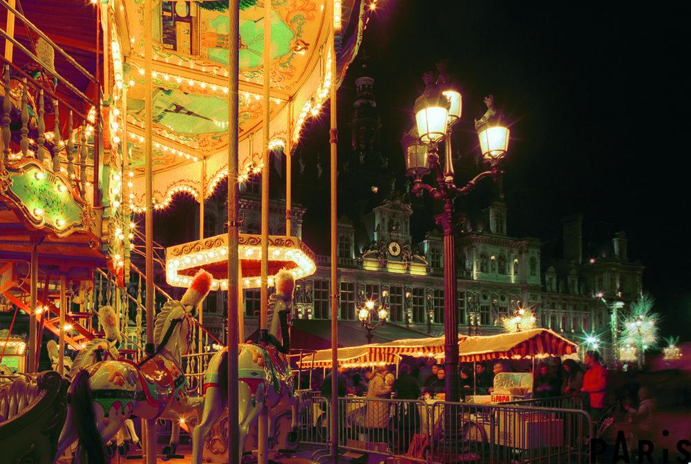 巴黎的聖誕市集 (Photo credit @photos.parisinfo.com)