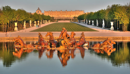 凡爾賽宮噴泉