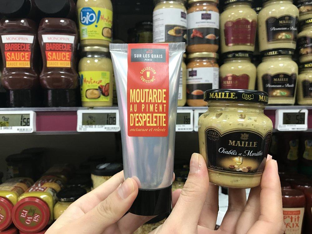 法國超市必買 TOP3 - 黃芥末 Moutarde