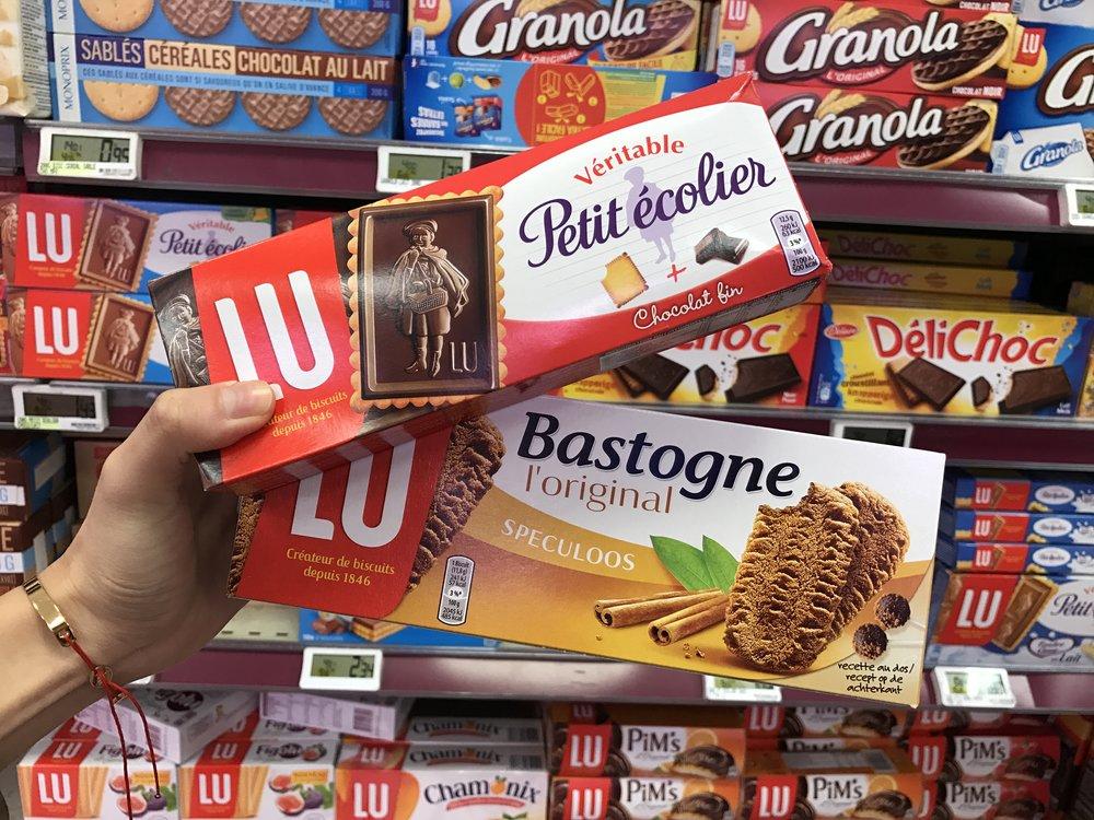 法國超市必買 TOP1 - LU餅乾