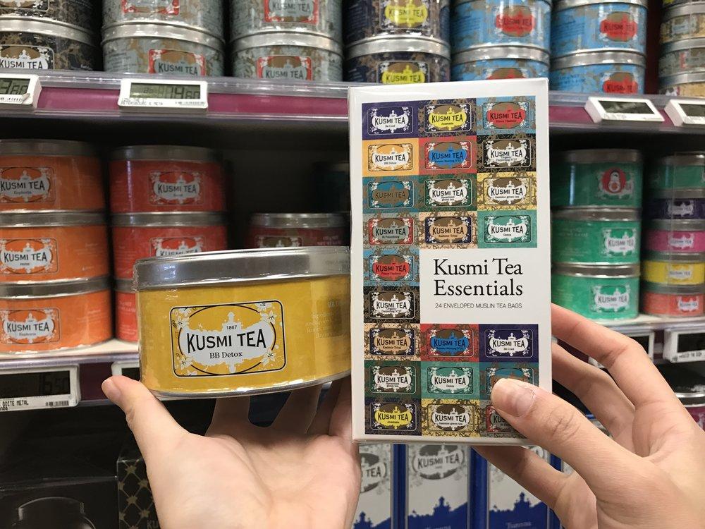 Kusmi Tea 茶葉