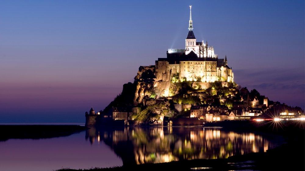 巴黎近郊 法國小鎮 #5. 聖米歇爾山 Mont Saint Michel