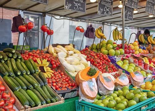 巴黎市集 #4 阿里格蔬果市集 Marché Aligre