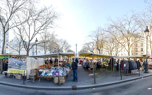 巴黎市集 #1 巴士底市集 Marché Bastille